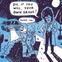 Dig, if you will... #prince #desert #grave #illustration #drawingaday #whendovescry