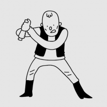 This is always my big worry when watching Star Wars. #starwars #lightsaber #thumb #illustration #animation #drawingaday #laser @starwars