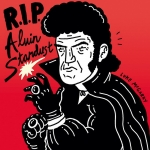 RIP Alvin Stardust. This is technically my first drawing on a #Cintiq. #illustration #alvinstardust #drawingaday #wacom #inktober