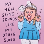 No real joke here, I just wanted to draw Meghan Trainor. #MeghanTrainor #AllAboutThatBass #illustration #drawingaday