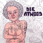 Another Pulitzer contender - Die Atwood. #DieAntwoord #MargaretAtwood #zef #ninja #dystopian #feminist #illustration #drawingaday #thehandmaidstale #girlswithtattoos