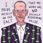 Quick John Waters for Movember #illustration #drawingaday #johnwaters #movember #mustache