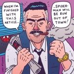 Joe Jonas Jameson. #spiderman #joejonas #nickjonas #kevinjonas #jonasbrothers #jjonahjameson #stanlee #comic #illustration #drawingaday