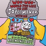 Pretty pleased with this Valentine's Day flyer I did for FYF/Joyce Manor. #joycemanor #fyffest #thesimpsons #ralphwiggum #illustration #valentines