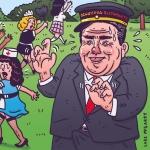 Local Republican Carlos Bustamante for @OCWeekly!  #illustration #drawingaday #carlosbustamante #republican #bone #oc