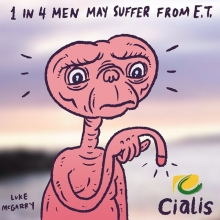 This is so stupid. #ET #ED #illustration #drawingaday #cialis #askyourdoctor