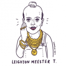 Was going to do a Mother's Day thing but then actual Mother's Day got in the way. Here's Leighton Meester / Mr.T.  #gossipgirl #leightonmeester #leighton #meester #mrt #ateam #yourteam #illustration #drawingaday