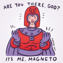 Unfollow me now, because I have a load of these. #judybloom #lukeybloom #magneto #xmen #marvel #illustration #drawingaday