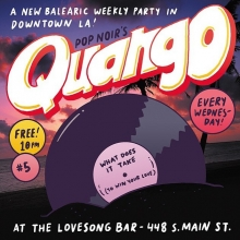 Come to our new balearic disco tonight! It's free and a lot of fun, conveniently located in DTLA @thelovesongbar @regenttheaterla @pop.noir @thequango #balearicdisco #popnoir #clubnight #losangeles #dj #nightlife #illustration