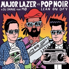 """There's a mashup of Major Lazer's """"Lean On"""" and Pop Noir's """"Don't Fool Yourself"""" floating about. It's very good and the link is in my profile. #majorlazer #popnoir #mashup #illustration #drawingaday #diplo #djsnake #mø"""