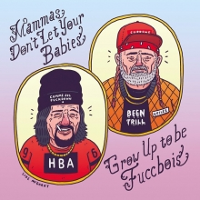 Mamma's Don't Let Your Babies Grow Up To Be Fuccbois. Like that one song!  You can get prints of this via the link in my profile! #waylonjennings #willienelson #fuccboi #country #cowboys #countrymusic #illustration #drawingaday #hoodbyair #vfiles #beentrill #supreme #fuckboy #commedesfuckdown
