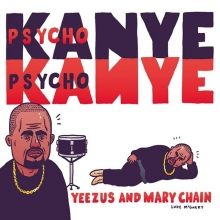 Speaking of @fyffest, as a couple people have pointed out, I accurately predicted Saturday nights lineup 4 months ago. What do I win? #fyffest #losangeles #kanyewest #thejesusandmarychain #illustration